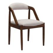 Zuo Jefferson Linen Blend Dining Chair Beige 100722