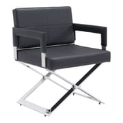 Zuo Yes Leatherette Dining Chair Black 100357