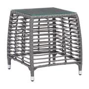 Zuo Trek Beach Side Table Gray & Beige (703829)