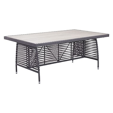 Zuo Sandbanks Dining Table Gray (703533)