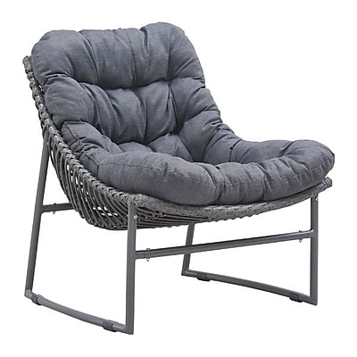 Zuo Ingonish Beach Chair Gray (703529)