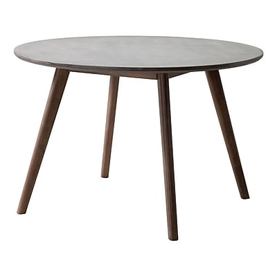 Zuo Elite Dining Table Cement & Natural (703590)