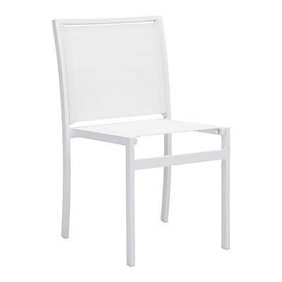 Zuo Mayakoba Dining Chair White Pack of 2 (703845)