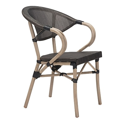 Zuo Marseilles Dining Chair Dark Brown Pack of 2 (703806)