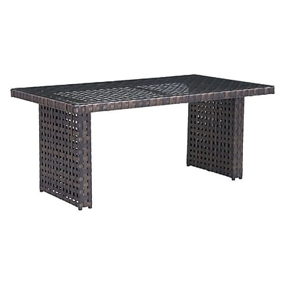 Zuo Pinery Dining Table Brown (703789)