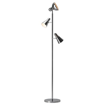 Zuo Shuttle Floor Lamp Chrome (703646)