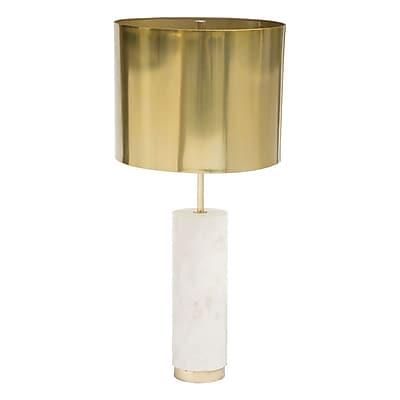 Zuo York Table Lamp Brass (405010)