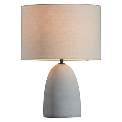 Zuo Vigor Table Lamp Beige & Concrete Gray (50500)