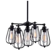 Zuo Porirua Ceiling Lamp Distressed Black (98424)