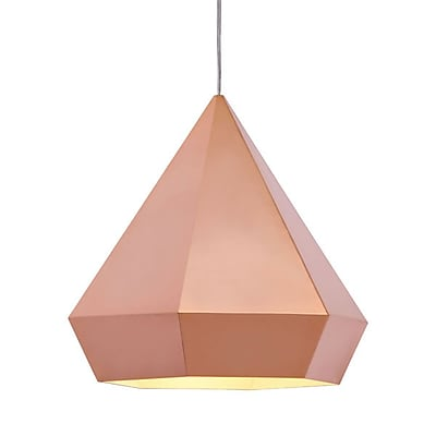 Zuo Forecast Ceiling Lamp Rose Gold (50174)