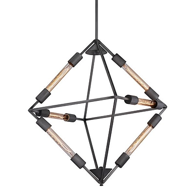 Zuo Union Ceiling Lamp Rust (56067)
