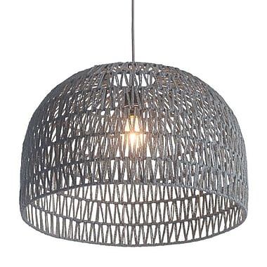 Zuo Paradise Ceiling Lamp Gray (50210)