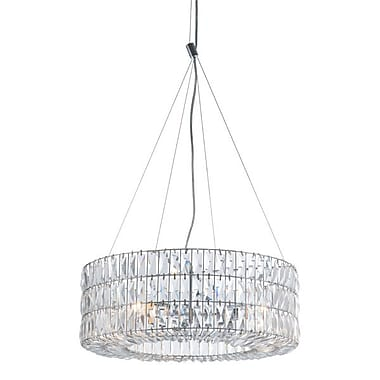 Zuo Jena Ceiling Lamp Chrome (56057)