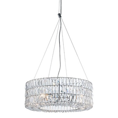 Zuo Jena Ceiling Lamp Chrome (56057)