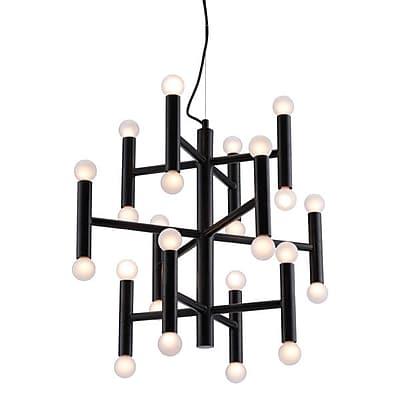 Zuo Alton Ceiling Lamp Black (56061)