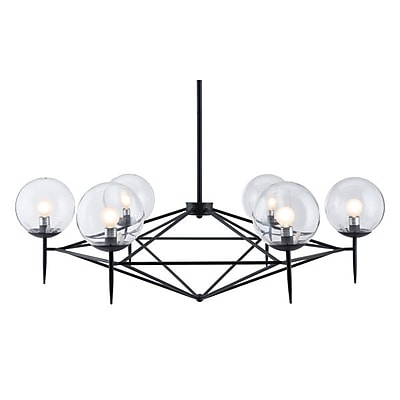 Zuo Carmine Ceiling Lamp Black (56064)