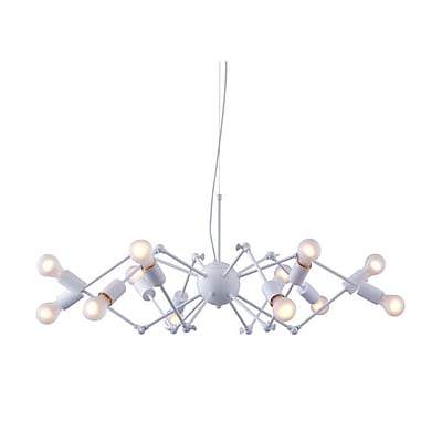 Zuo Sleet Ceiling Lamp White (50142)