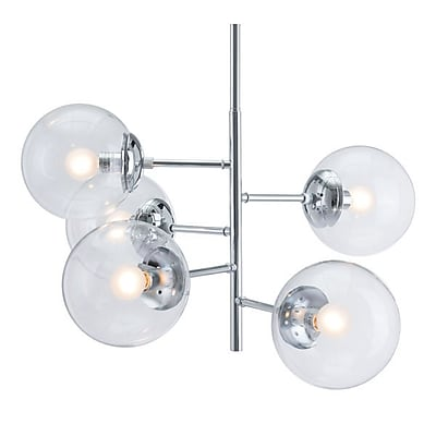 Zuo Somerest Ceiling Lamp Chrome (56060)