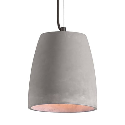 Zuo Fortune Ceiling Lamp Concrete Gray (50205)