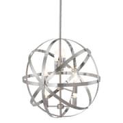 Zuo Aston Ceiling Lamp Satin Nickel (56068)