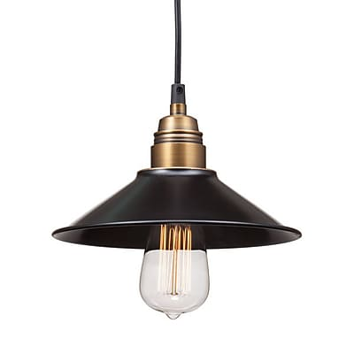 Zuo Amarillite Ceiling Lamp Black & Copper (98257)