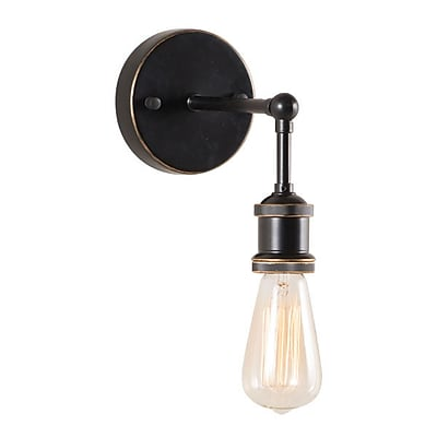 Zuo Miserite Wall Lamp Antique Black Gold & Copper (56002)