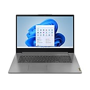 "Lenovo Ideapad 3i 17"" Laptop, Intel i7-1165G7, 8GB Memory (4GB Onboard + 4GB DIMM), 256 SSD, Windows 11 Home (82H900E2US)"