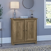 """Bush Furniture Cabot 30.2"""" Storage Cabinet with 2 Shelves, Reclaimed Pine (WC31596-03)"""