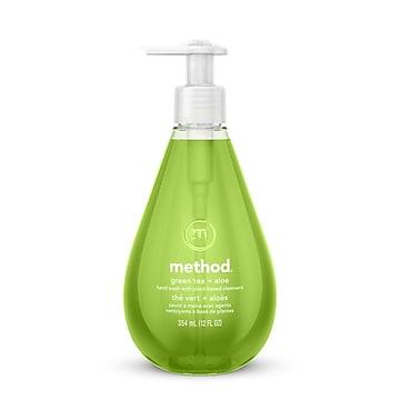 Method Gel Foaming Hand Soap, Green Tea + Aloe, 12 oz. (00033)