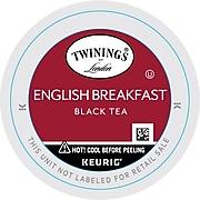 Twinings of London English Breakfast Tea, Keurig K-Cup Pods, 24/Box (TNA85780)
