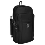 Black Universal Travel Cellphone Carrying Pouch Case (CELLEA823)