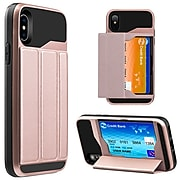 Card Holder Back Cover Carrying Case for Apple iPhone X (APLCRC763)