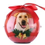 Red Twinkling Lights Christmas Tree  Ball Ornament home decor Dog Puppy, Labrator (ORNDOG402)