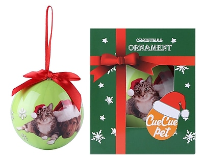 Green Christmas Tree Ball Ornament home decor,