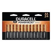 Duracell Coppertop AA, Alkaline Batteries, 24/Pack (MN1500B240001)