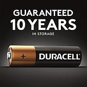 Duracell Coppertop D Alkaline Batteries, 4/Pack (MN1300R4Z)