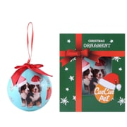 Blue Twin Bernese Christmas Tree Ball Ornament home decor (ORNDOG109)