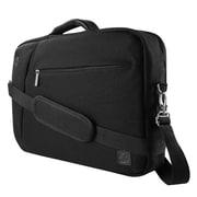 "Black Laptop Backpack Messenger Bag Crossbody for Notebook 17.3"" 16"" (LAPLEA043)"
