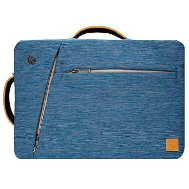 Blue Laptop Backpack Mesenger Bag Crossbody for Notebook 17.3