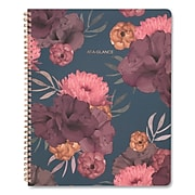 AT-A-GLANCE® Dark Romance Weekly/Monthly Planner, 11 x 8.5, Floral, 2022-2023