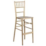Flash Furniture Gold Wood Chiavari Barstool (XACHBARGO)