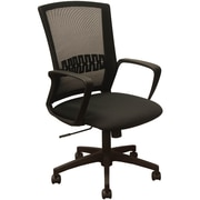 Advantage Black Mesh Office Chairs Black Padded Seat (KB-8929-BLK)