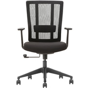 Advantage Black Mesh Office Chairs (X3-55BT-1)