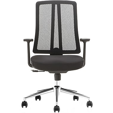 Advantage Black Mesh Office Chairs (X1-03A-5)