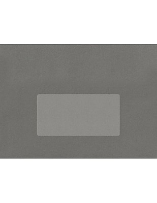LUX 4 x 2 Rectangle Labels, 10 Per Sheet (50/Pack), Clear Matte (46CJ-50)
