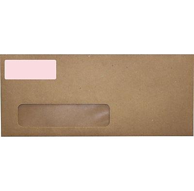 LUX 2.625 x 1 Standard Address Labels, 30 Per Sheet (100/Pack), Pastel Pink (16PP-100)