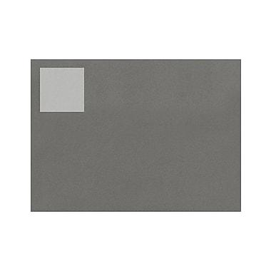 LUX 1.5 x 1.5 Square Labels, 35 Per Sheet (10/Pack), Clear Matte (780CJ-10)