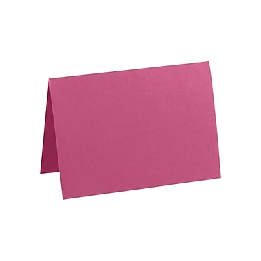 LUX A2 Folded Card (4 1/4 x 5 1/2) 50/Pack, Magenta (EX5020-10-50)
