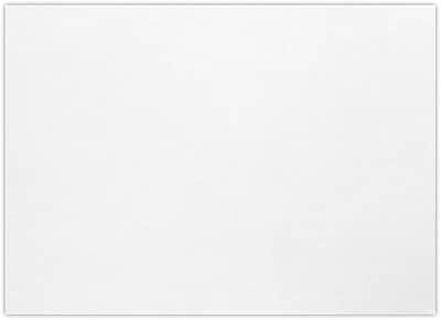LUX A1 Flat Card (3 1/2 x 4 7/8) 250/Pack, Bright White - 100% Cotton (4010-SW-250)