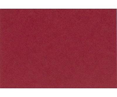 LUX A7 Flat Card (5 1/8 x 7) 50/Pack, Garnet (EX4040-26-50)